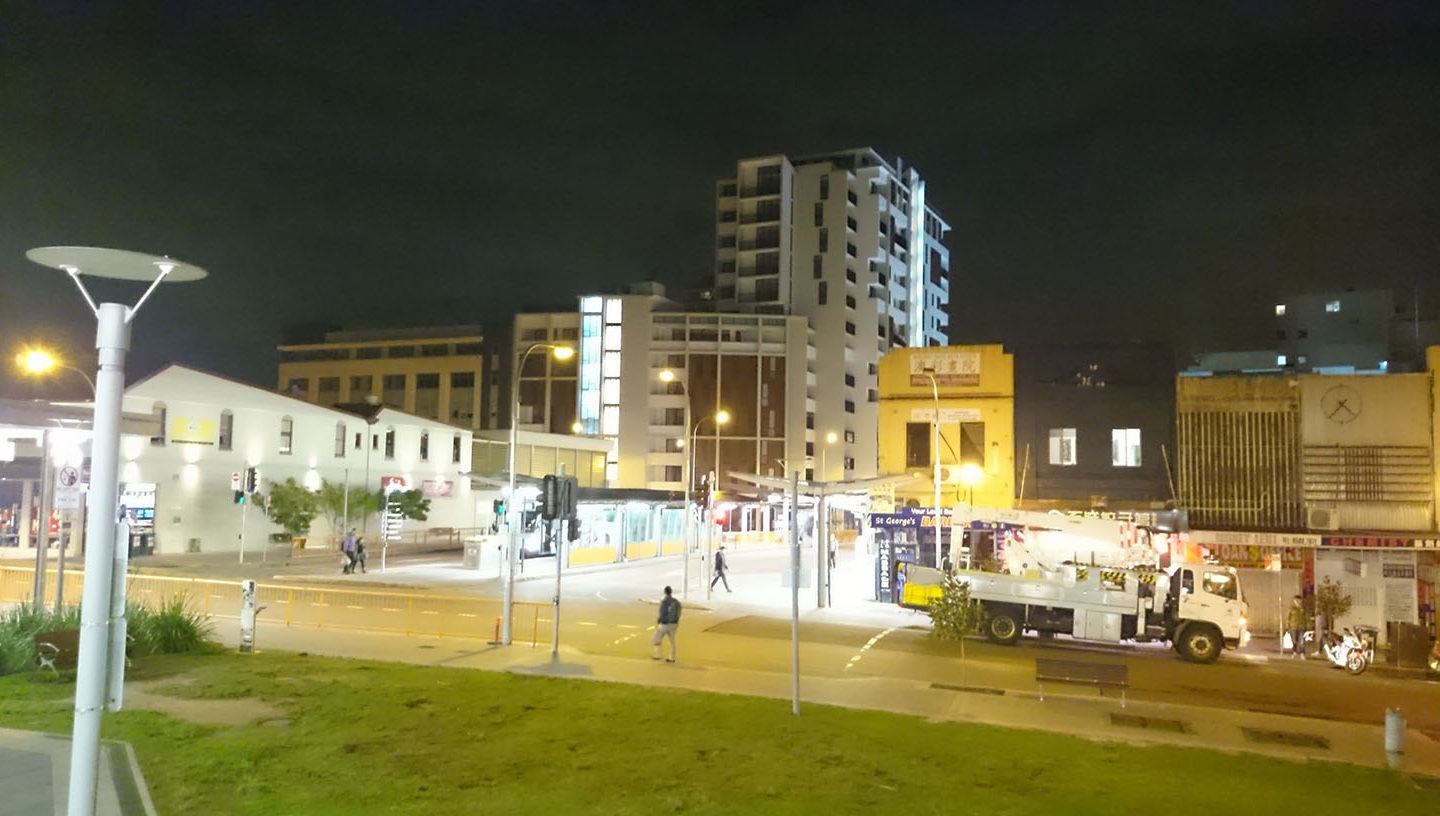One night in Hurstville, I took this photo and put it as my birthday countdown